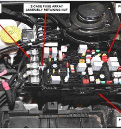z case fuse array retaining nut [ 1154 x 767 Pixel ]