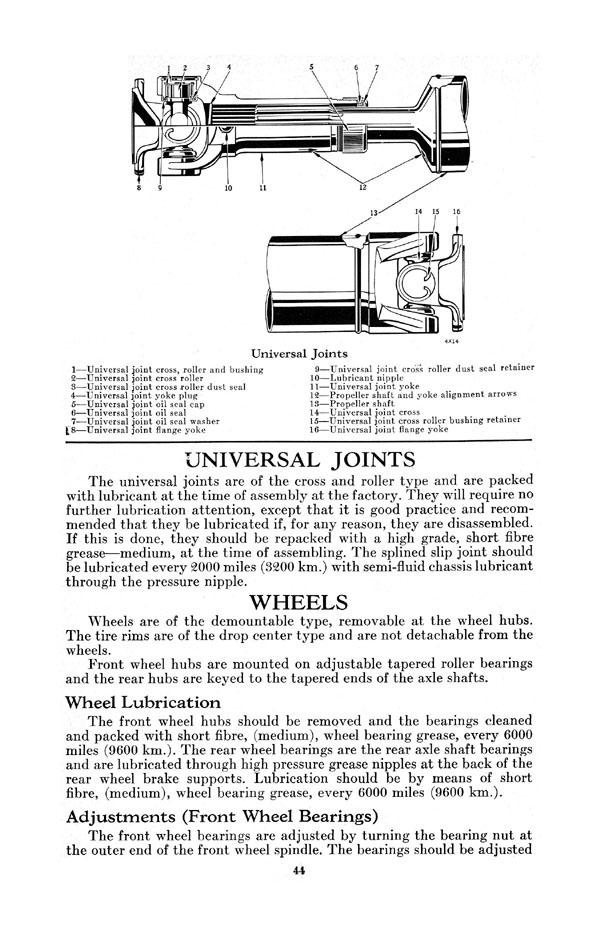 1935 Airflow Chrysler Eight Instruction Book