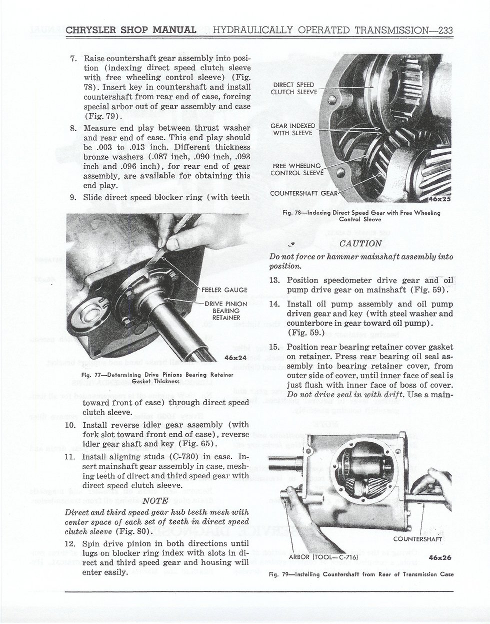1941 Chrysler Shop Manual