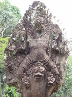 Garuda on Naga