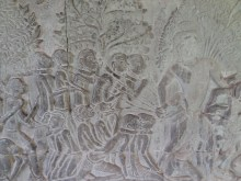 Relief hell, Angkor Wat