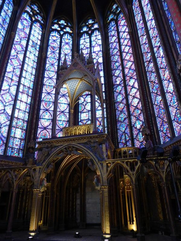 Sainte Chapelle Upper Chapel Paris Chryt