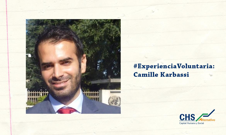 #ExperienciaVoluntaria: Camille Karbassi