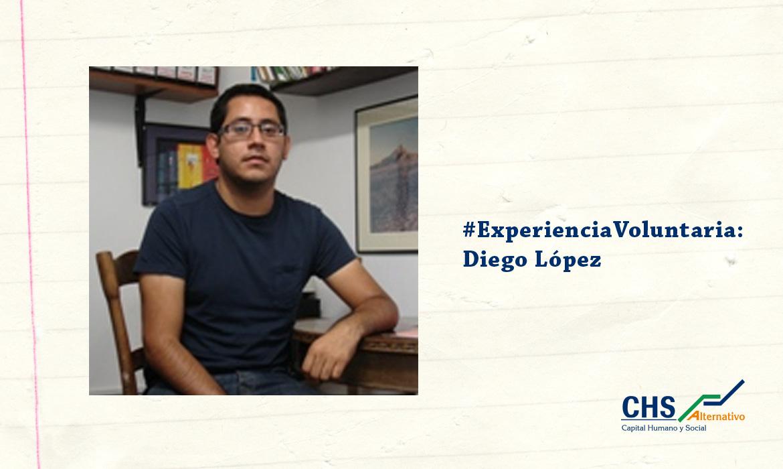 #ExperienciaVoluntaria: Diego López