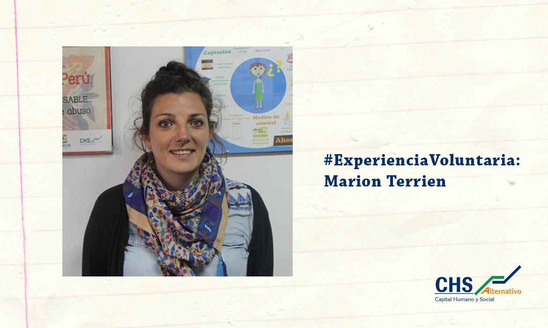 #ExperienciaVoluntaria: Marion Terrien