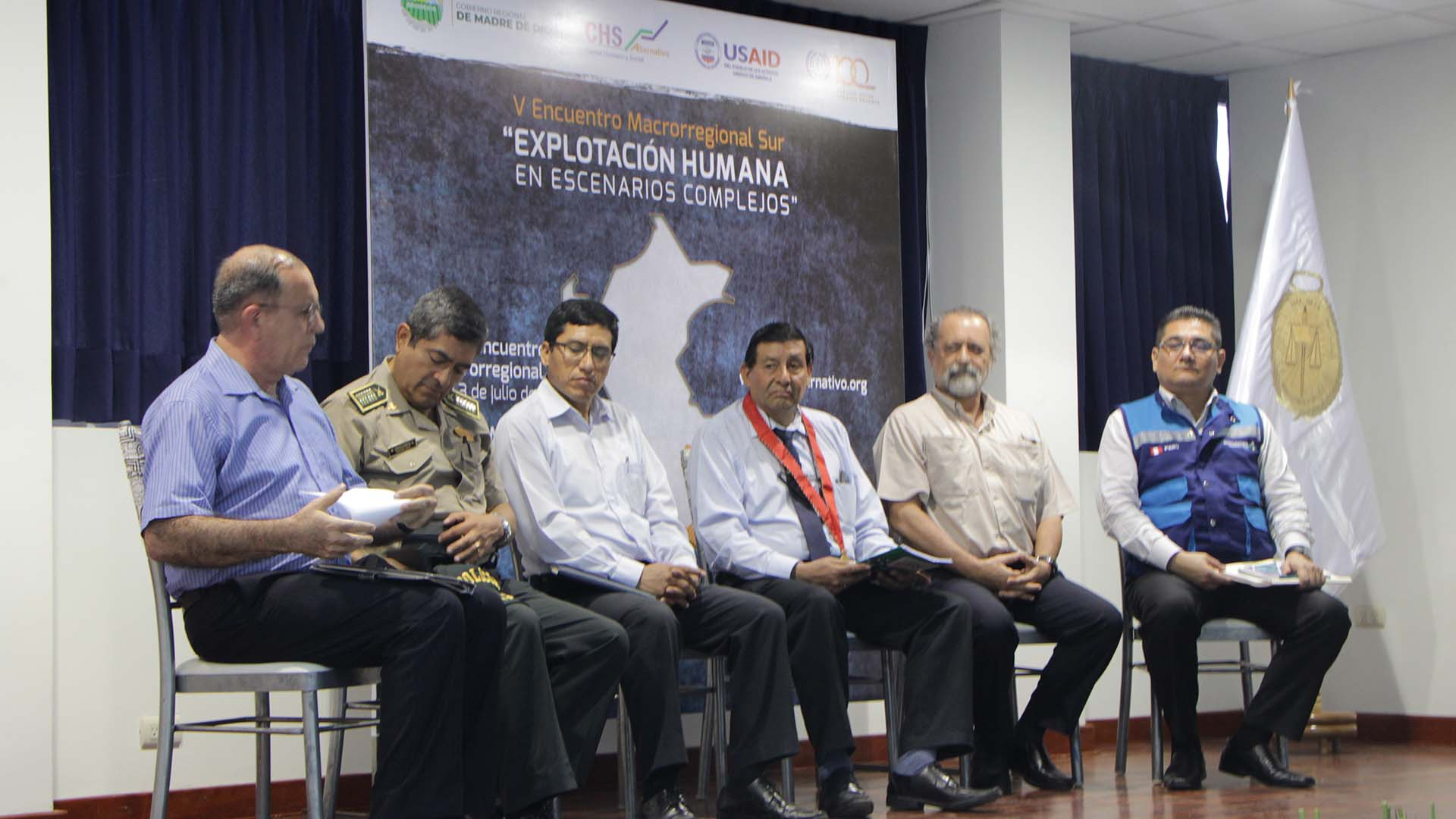 Se inauguró el V Encuentro Macrorregional Sur sobre trata de personas y todo tipo de explotación humana