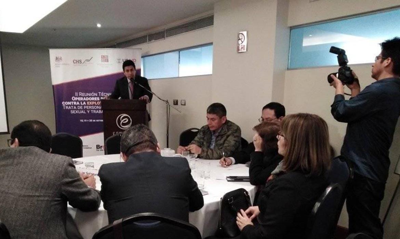 CHS Alternativo organiza II Reunión Técnica de Operadores de Justicia contra la Explotación Humana