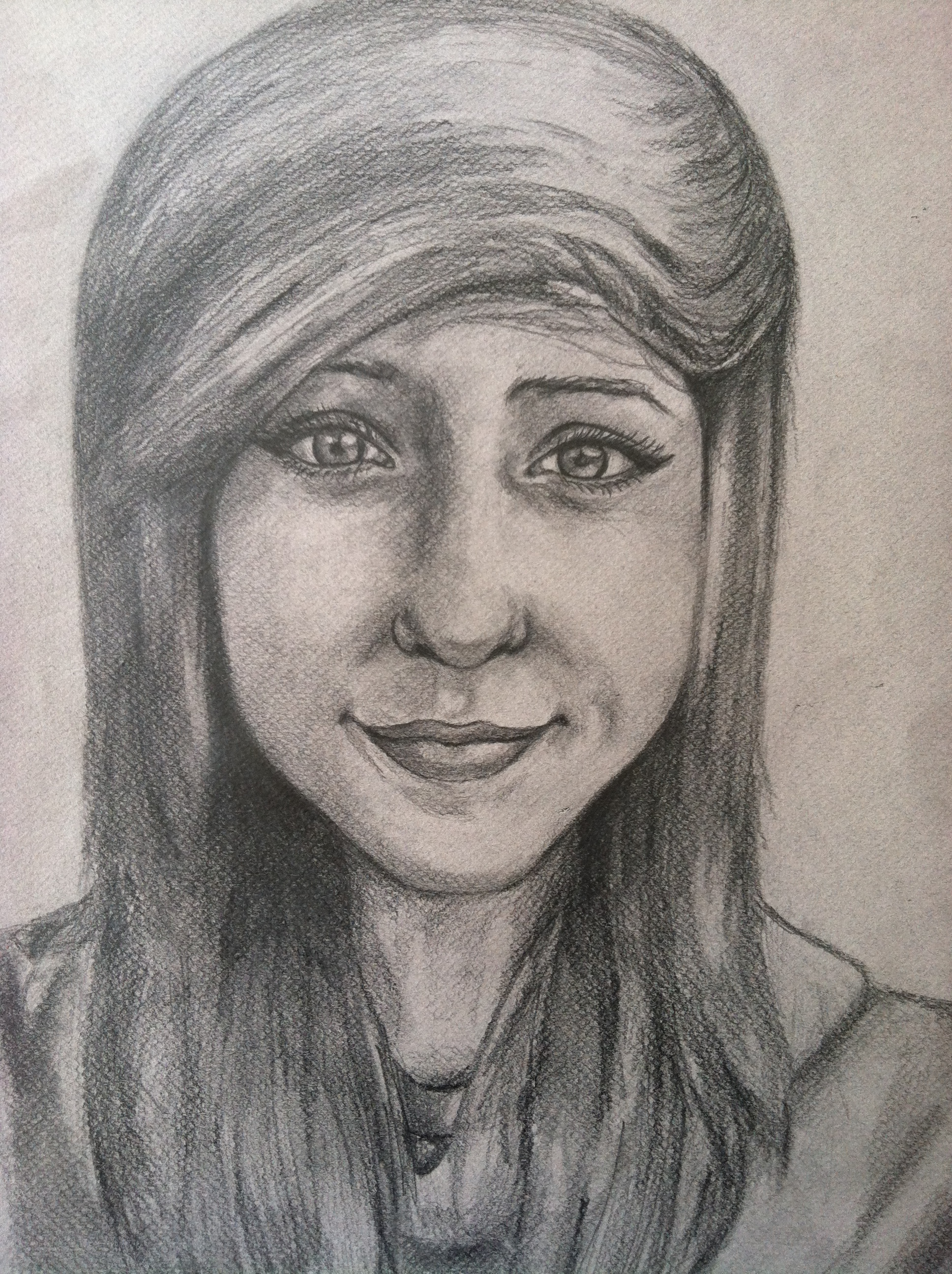 Sketchbook Assignment Self Portrait Drawings