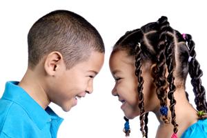 Social Kids, kids talking, communicationg