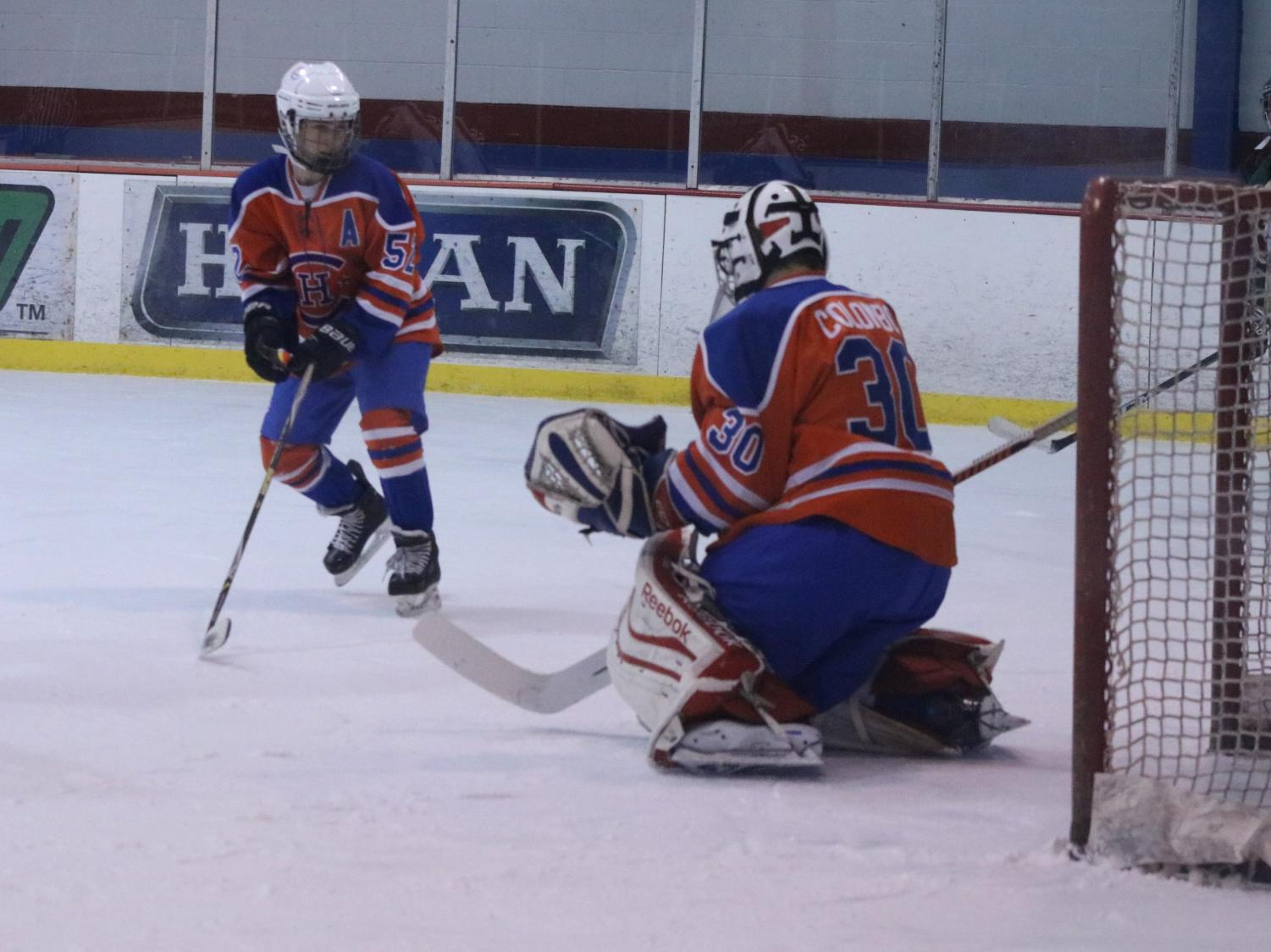 Duchesne High School Ice Hockey Hockey Hounds Take Down Lutheran South Lancers For Late Season