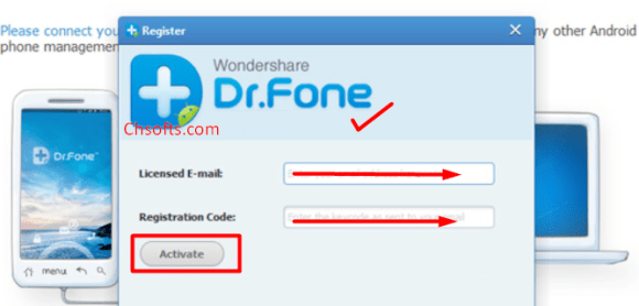 Wondershare Dr.Fone Registration Code