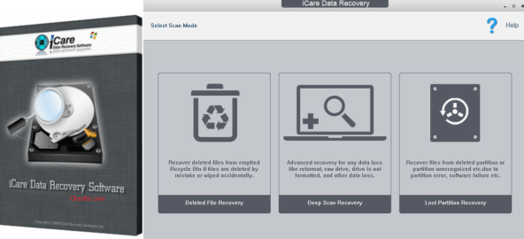 iCare Data Recovery Pro Crack full key