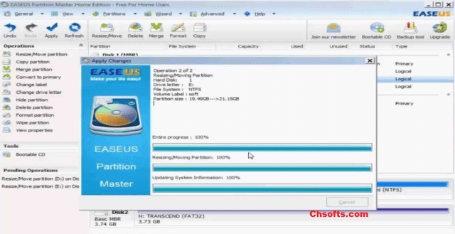 EaseUS Partition Master 13 Crack