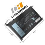 bateria interna para portatil dell asus lenovo acer msi Dell Inspiron 15 5567 5568 7560 5567