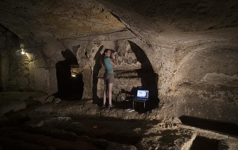 santa lucia catacombs