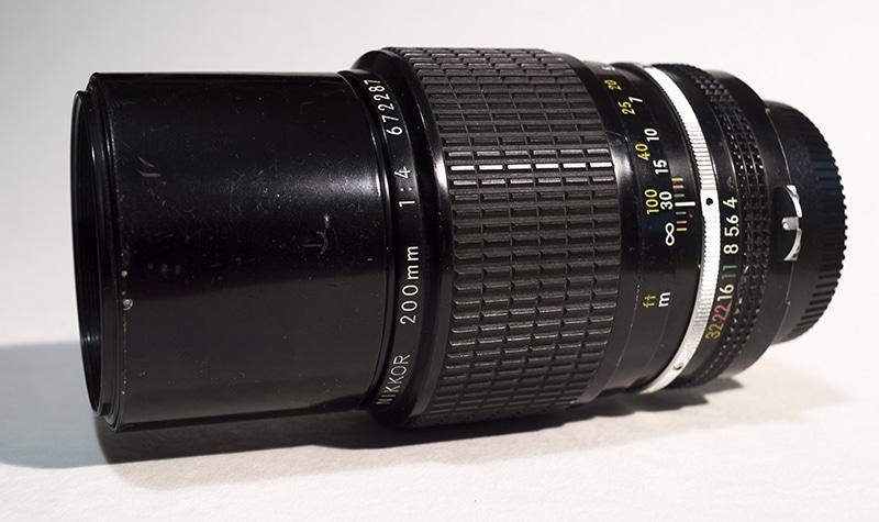 Nikon Nikkor 200mm f4 AI