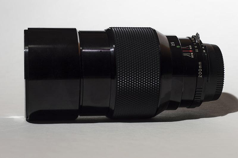 Soligor 200mm f2.8