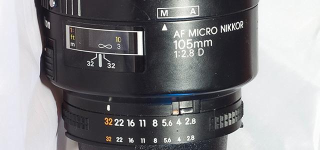 Nikon Nikkor Micro 105mm f2.8 D