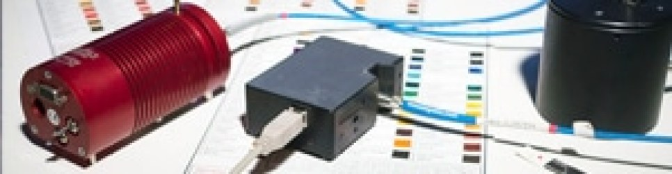 Miniaturized spectrometer for pigments identification.