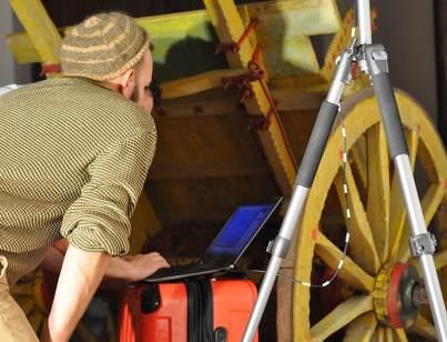 Training program at the Sicilian carts Museum.