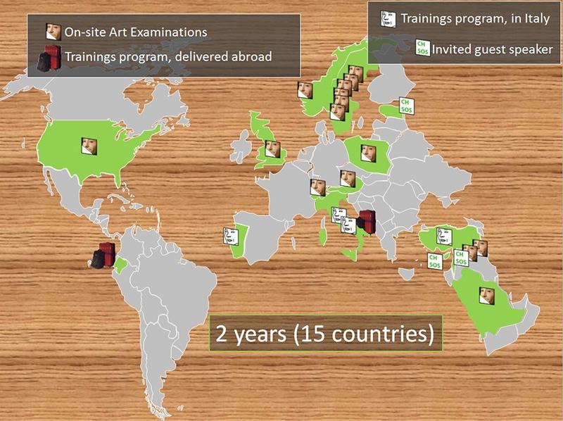 2014 CHSOS worldmap