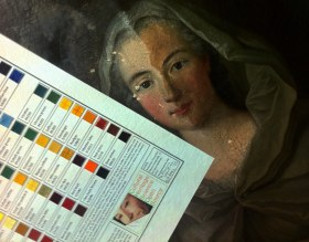 Technical photography of Pigments Checker