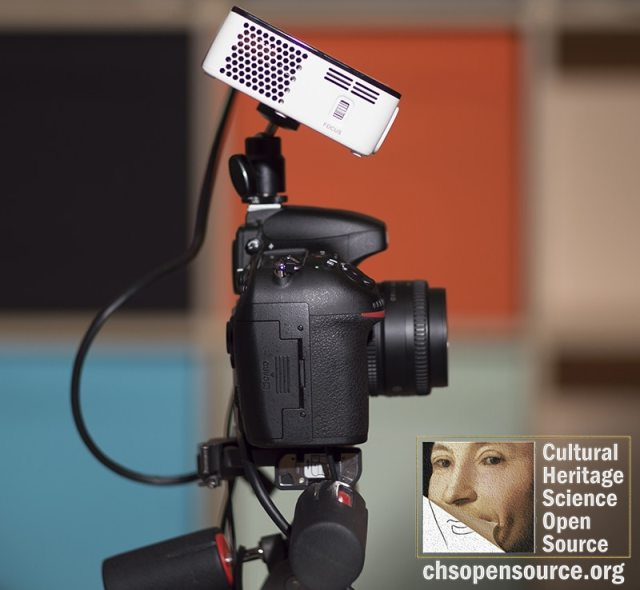 3D scanning with mini projectors - Cultural Heritage Science Open Source
