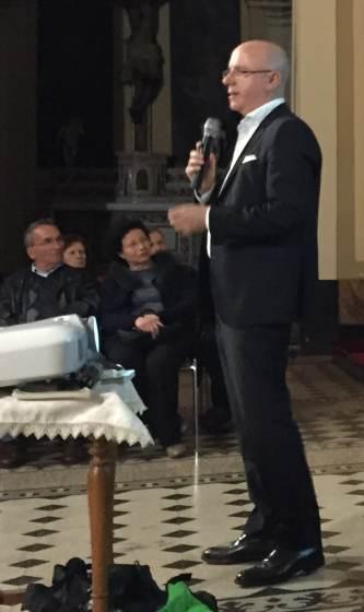 Conference April 26th, Aci Sant'Antonio. Raffaello Di Mauro