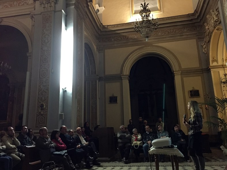 Conference April 26th, Aci Sant'Antonio. Corinna Koch Dandolo