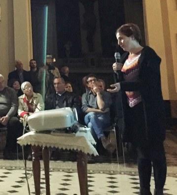 Conference April 26th, Aci Sant'Antonio. Milene Gil