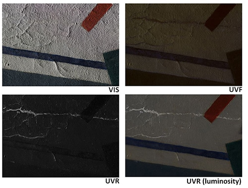 Practical notes on ultraviolet technical photography for art examination 08