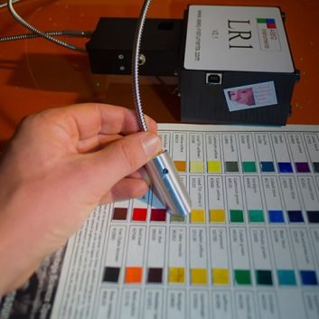 Reflectance Spectroscopy of Pigments Checker