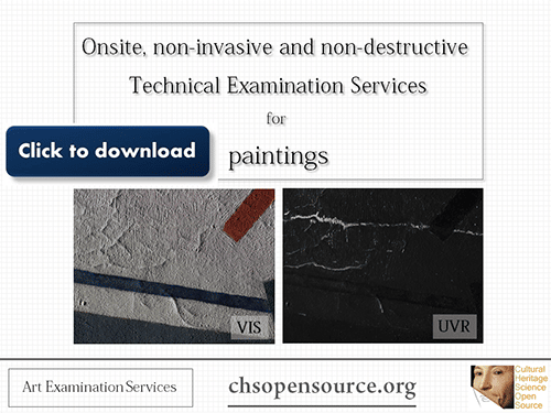 Technical examination services for easel paintings
