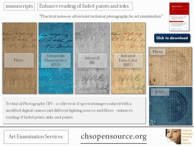 technical photography manuscripts