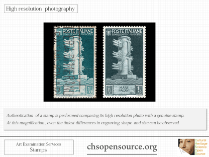 Technical examination services for stamps Slide2