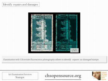 Technical examination services for stamps Slide7