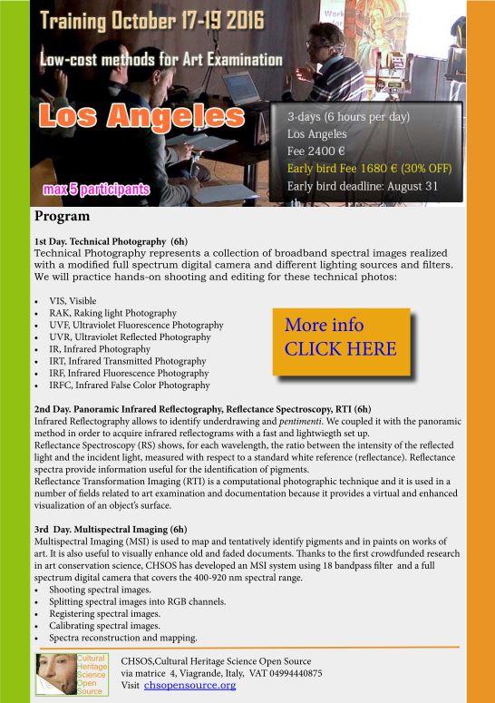 Training October 2016 Los Angeles Program
