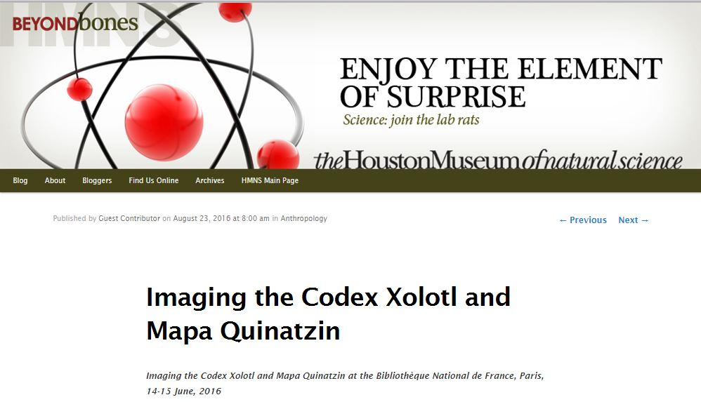 imaging codex paris