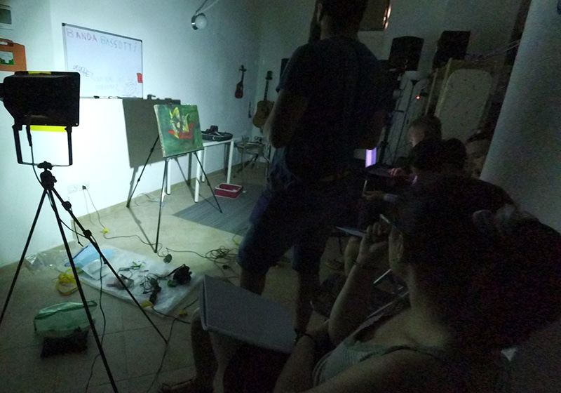Low-cost Methods for art examination Summer Training 2016