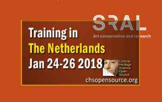 Training at SRAL, Maastricht, The Netherlands, Jan 24-26 2018