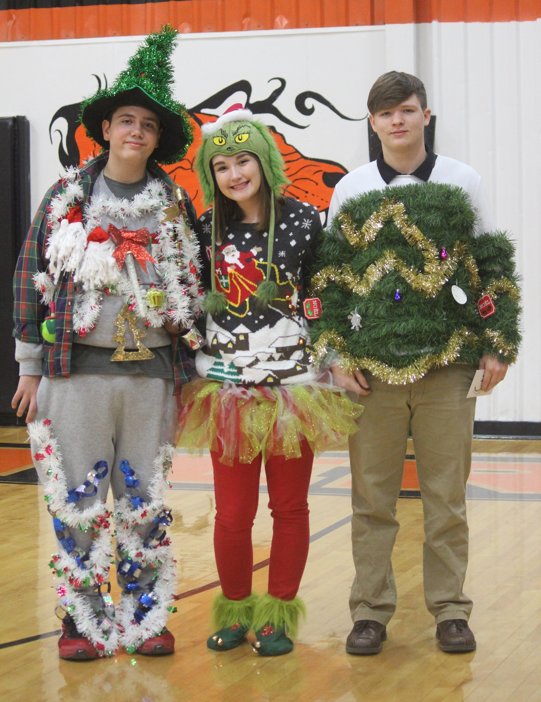 Ugly Christmas Sweater Contest At Chs