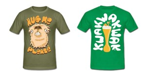 t-shirts marrants