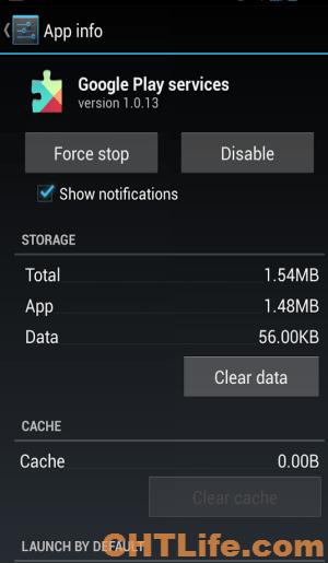 Google Play 服務 更新