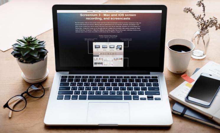 Screenium 3 v3.2.4 Mac 專業的螢幕錄影軟體 - CHTLife