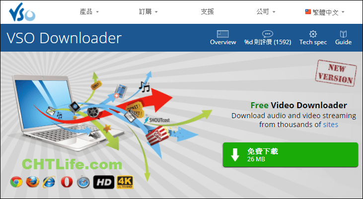 VSO Downloader 下載