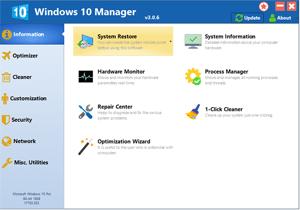 Win10 優化軟體 Windows 10 Manager v3.2.7 系統控必備 - CHTLife