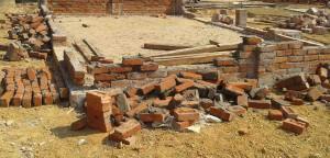 Army destroy updf office in Baghaichari2