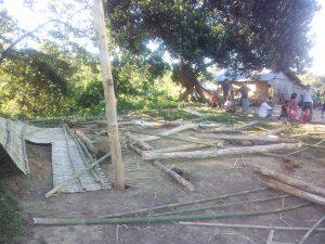 # বিজিবি কর্তৃক দোকানঘরটি এভাবে ভাঙচুর করে তছনছ করে দেওয়া হয়।