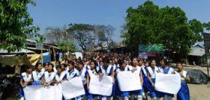 Dighinala protest, 28.02.17