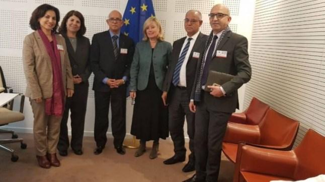 هذه هي المحاور التي تطرقت لها مباحثات بيد الله مع مقررة لجنة التجارة الدولية بالبرلمان الأوروبي..